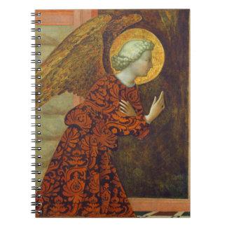 The Archangel Gabriel, c. 1430 (tempera on panel) Notebook