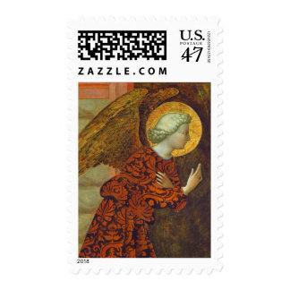 The Archangel Gabriel, c. 1430 (tempera on panel) Postage