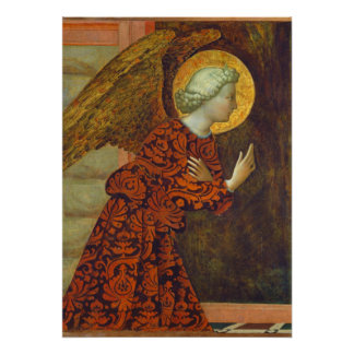 The Archangel Gabriel, c. 1430 (tempera on panel) Poster