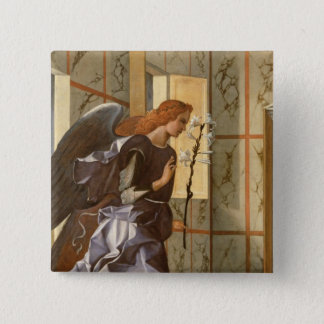 The Archangel Gabriel, from The Annunciation dipty Button
