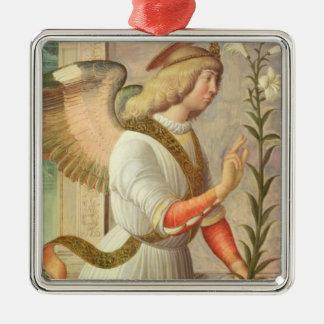 The Archangel Gabriel (panel) Metal Ornament