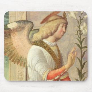 The Archangel Gabriel (panel) Mouse Pad