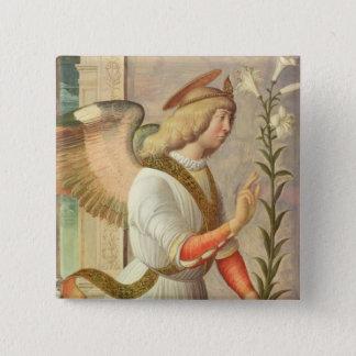 The Archangel Gabriel (panel) Pinback Button