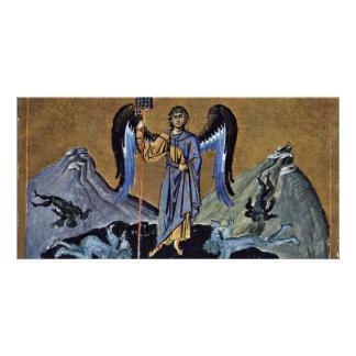 The Archangel Michael By Meister Der Ménologe Des Photo Cards