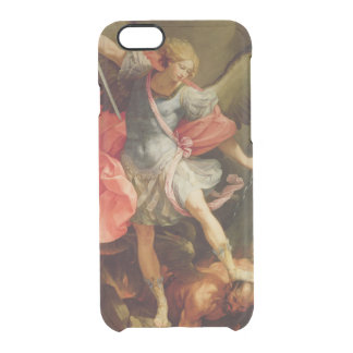 The Archangel Michael defeating Satan Clear iPhone 6/6S Case