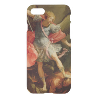 The Archangel Michael defeating Satan iPhone 8/7 Case