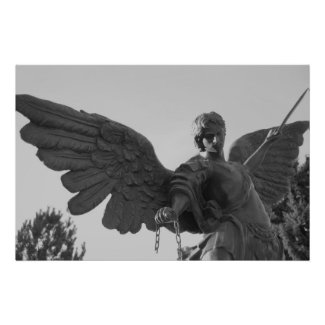 The archangel michael print