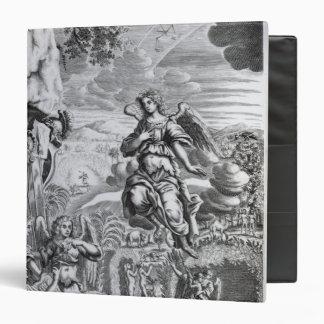 The archangel Uriel informs Gabriel 3 Ring Binder