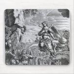 The archangel Uriel informs Gabriel Mouse Pad