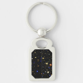 The Arches and Quintuplet Clusters Near the Milky Silver-Colored Rectangular Metal Keychain