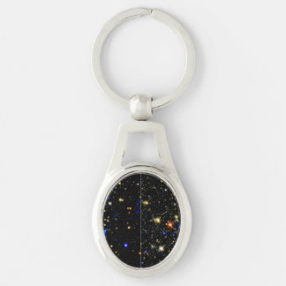 The Arches and Quintuplet Clusters Near the Milky Silver-Colored Oval Metal Keychain