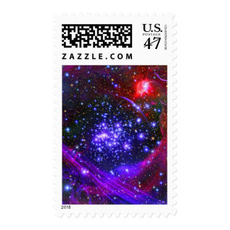 The Arches star cluster deep inside the hub Postage Stamp