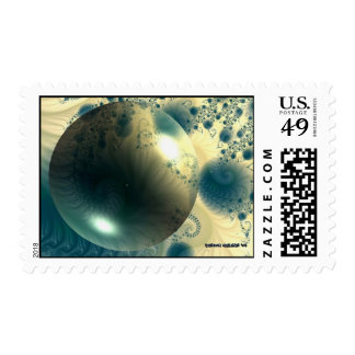The Arctic Snowball Postage Stamp