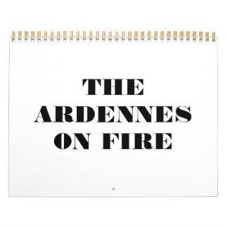 THE ARDENNES ON FIRE 2012 CALENDAR