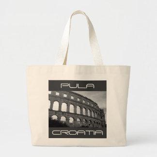 The Arena at Pula Large Tote Bag