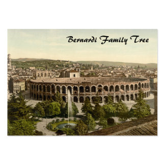 The Arena, Verona, Italy Business Card Template