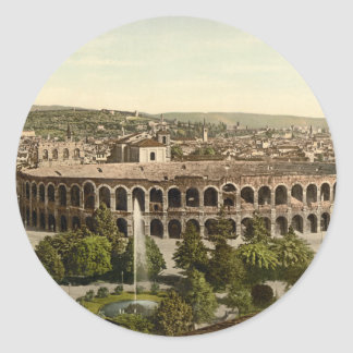 The Arena, Verona, Italy Classic Round Sticker