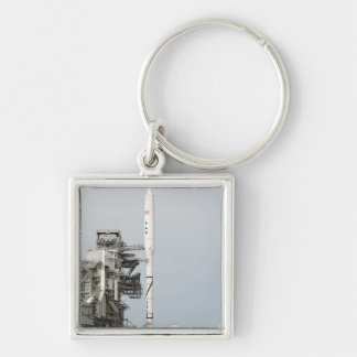 The Ares I-X rocket is seen on the launch pad 2 Keychain