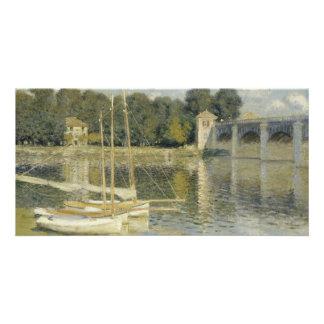 The Argenteuil Bridge by Claude Monet Card