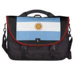 The Argentinian national flag (side) Computer Bag