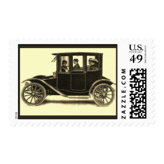 The Argo Fore-Drive Electric Town Car Postage Stamp