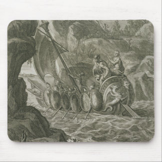 The Argonauts Pass the Symplegades (engraving) Mouse Pad