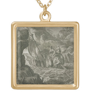 The Argonauts Pass the Symplegades (engraving) Necklace