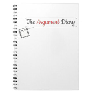 The Argument Diary - Binder Notebook