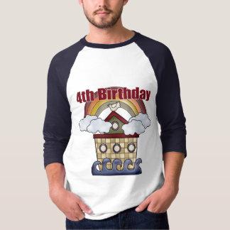 The Ark 4th Birthday Gifts Tee Shirt