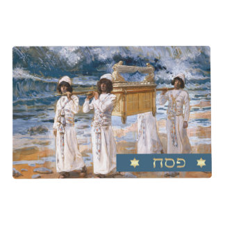 The Ark of the Covenant. Passover Placemats Laminated Placemat