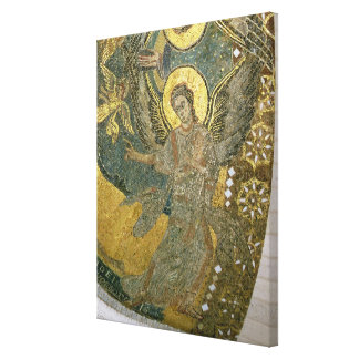 The Ark of the Covenant supported by Cherubim, fro Canvas Print