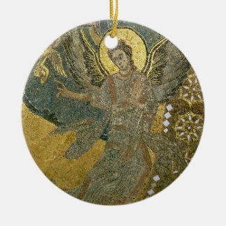 The Ark of the Covenant supported by Cherubim, fro Ceramic Ornament