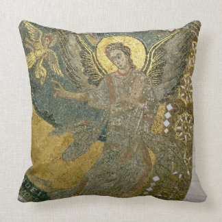 The Ark of the Covenant supported by Cherubim, fro Throw Pillows