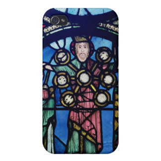 The Ark of the Covenant window, detail of God with iPhone 4/4S Case