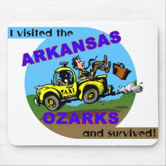 The Arkansas Traveler Survivor Mouse Pad