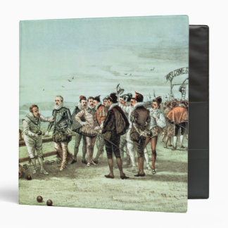 The Armada of 1888 in Sight 3 Ring Binder