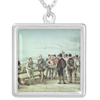 The Armada of 1888 in Sight Pendant