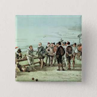 The Armada of 1888 in Sight Pinback Button