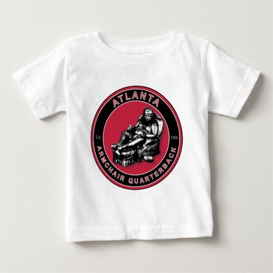 THE ARMCHAIR QB - Atlanta Baby T-Shirt