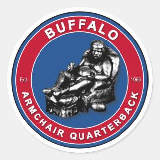 The Armchair QB Buffalo Football Stickers