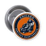 THE ARMCHAIR QB - Chicago Pinback Button