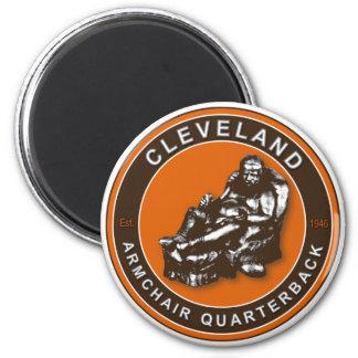 The Armchair QB Cleveland Football Magnet