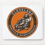 THE ARMCHAIR QB - Cleveland Mouse Pad