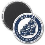THE ARMCHAIR QB - Dallas Fridge Magnets