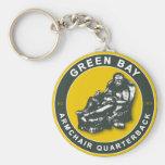 THE ARMCHAIR QB - Green Bay Keychain