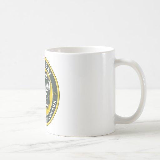 THE ARMCHAIR QB - Green Bay Classic White Coffee Mug