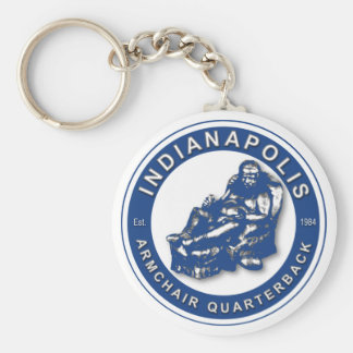 THE ARMCHAIR QB - Indianapolis Keychains