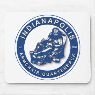 THE ARMCHAIR QB - Indianapolis Mousepad
