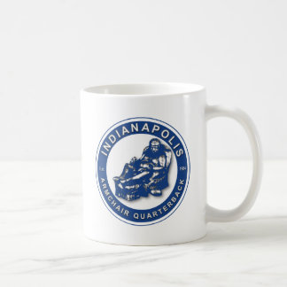 THE ARMCHAIR QB - Indianapolis Coffee Mug
