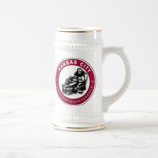 THE ARMCHAIR QB - Kansas City Beer Stein